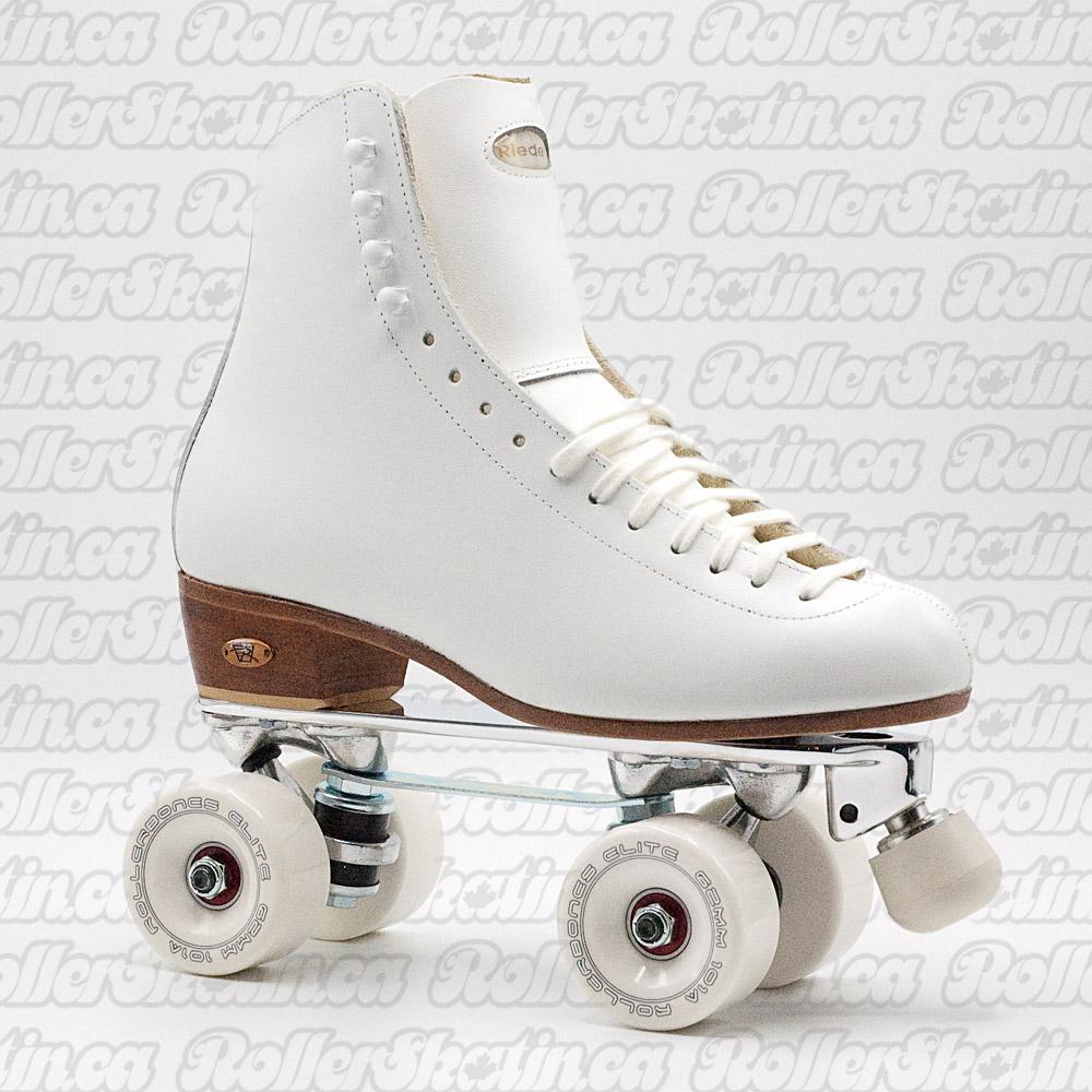 Riedell 220 Century BONES Elite Rink Roller Skate