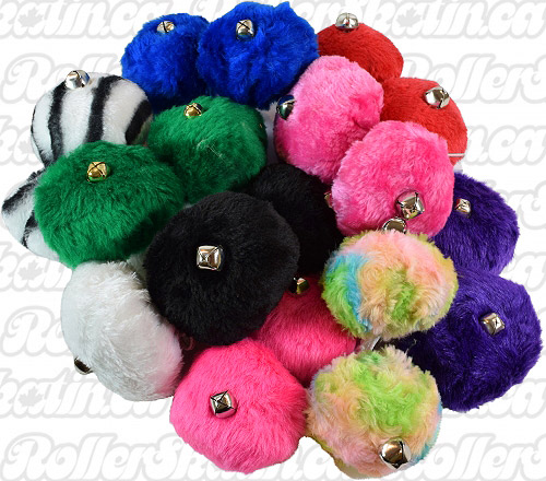 Rollerskate POM-POM's with Bells!