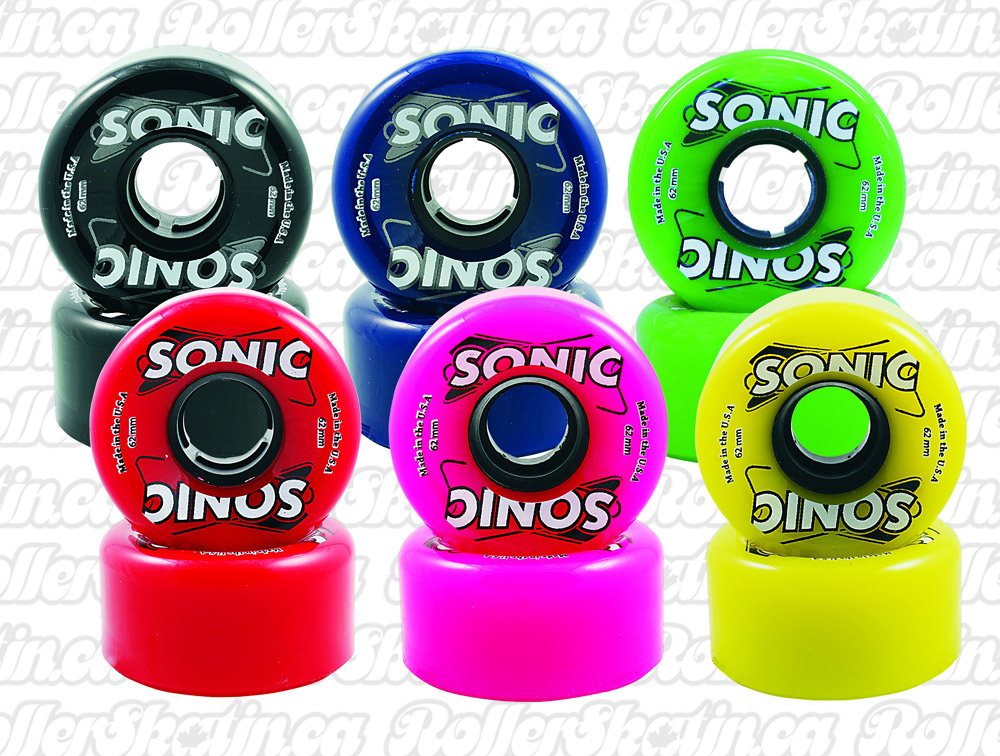 SONIC Outdoor Wheels 85A Set of 8!
