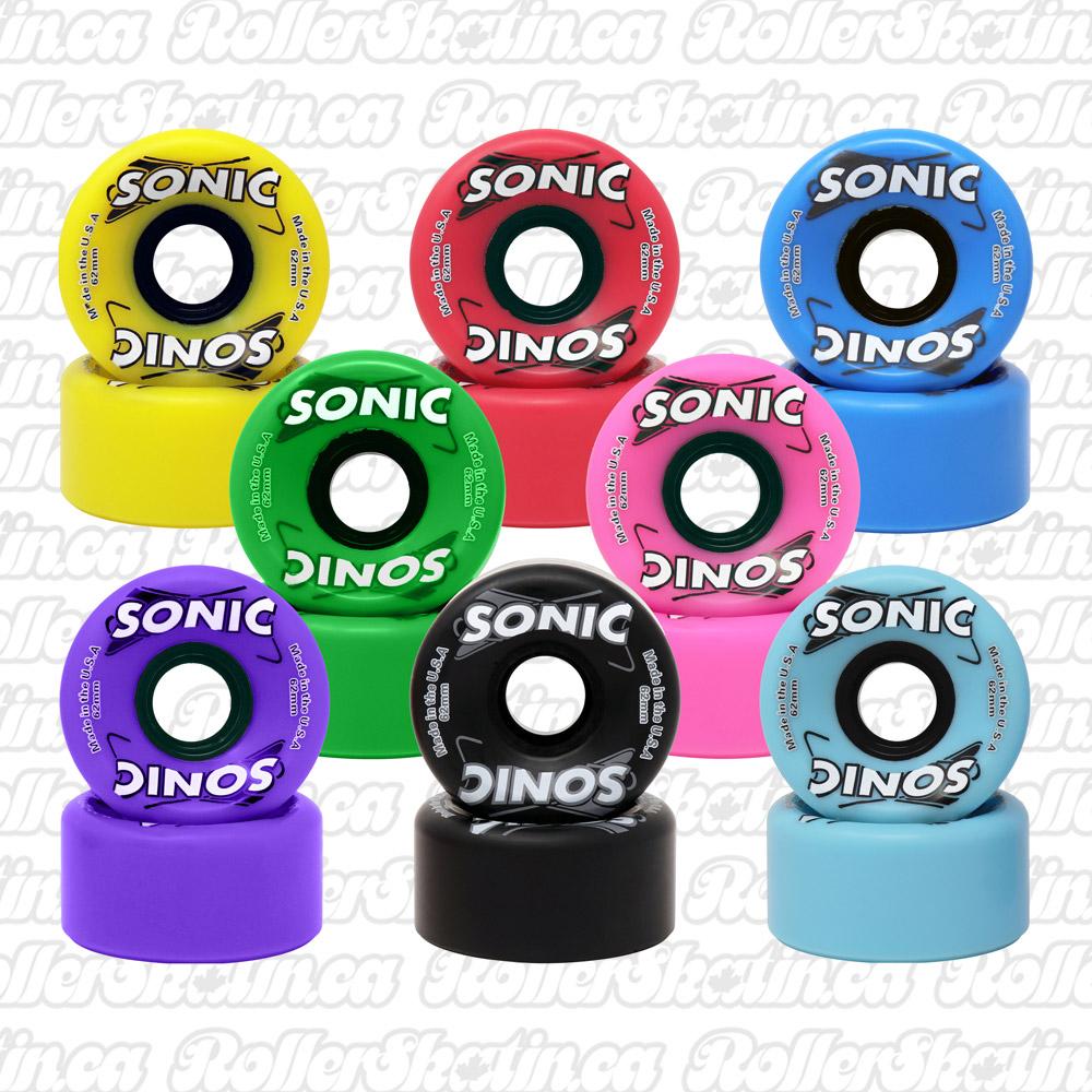 INSTOCK! SONIC Indoor/Outdoor Wheels 85A Set of 8!