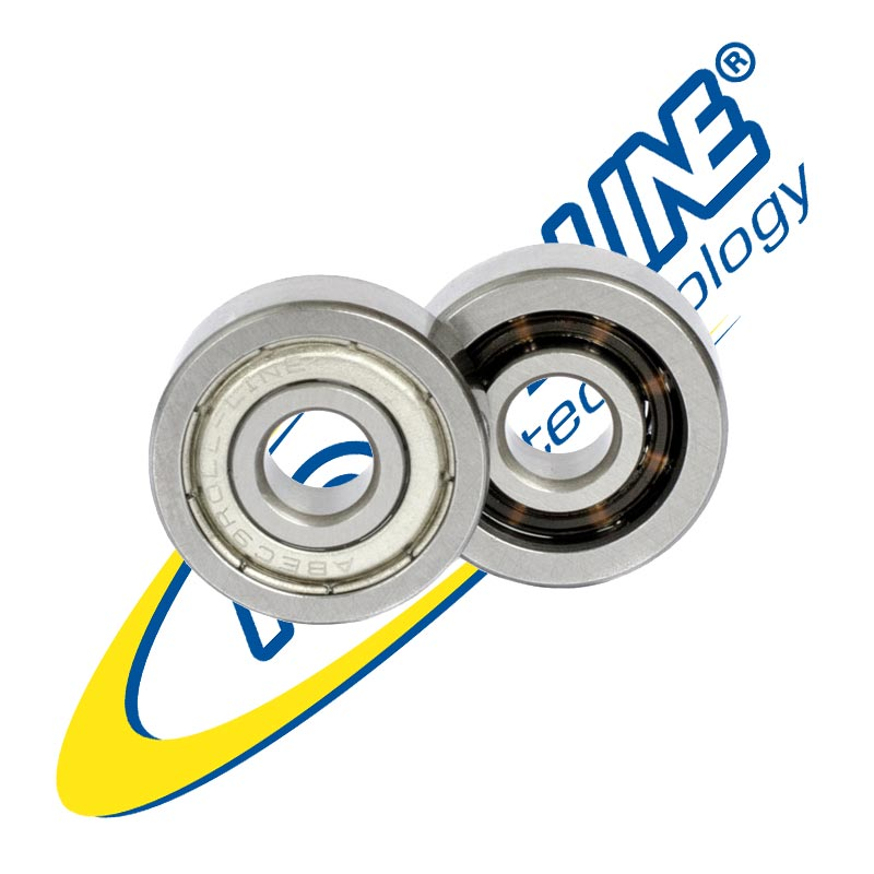 Roll-Line Speed MAX ABEC 9 Professional Bearings 7mm 16-Pack