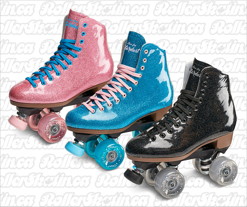 NEW! Sure-Grip Stardust Glitter Roller Skate