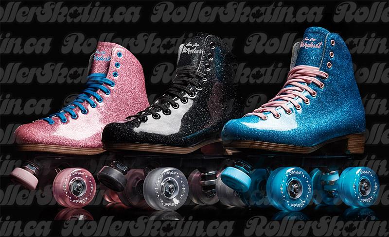 INSTOCK! Sure-Grip Stardust Glitter Roller Skate