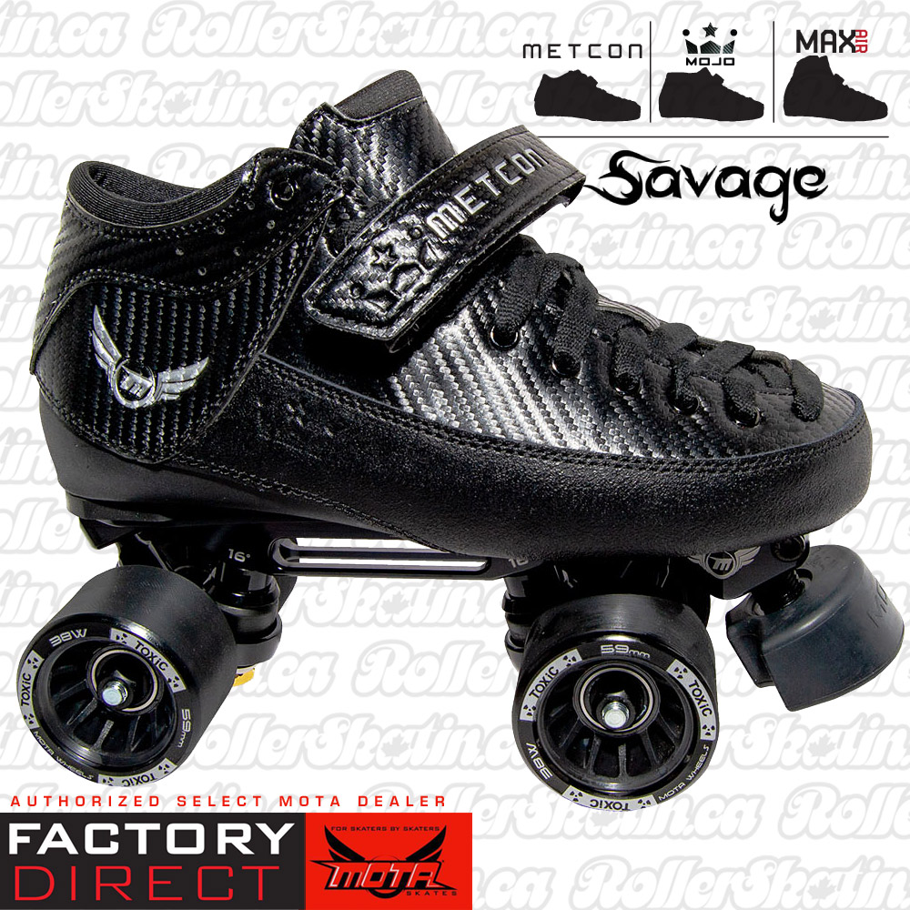 MOTA Metcon/Max/Mojo Black Magic SAVAGE Skate Package Factory Direct!