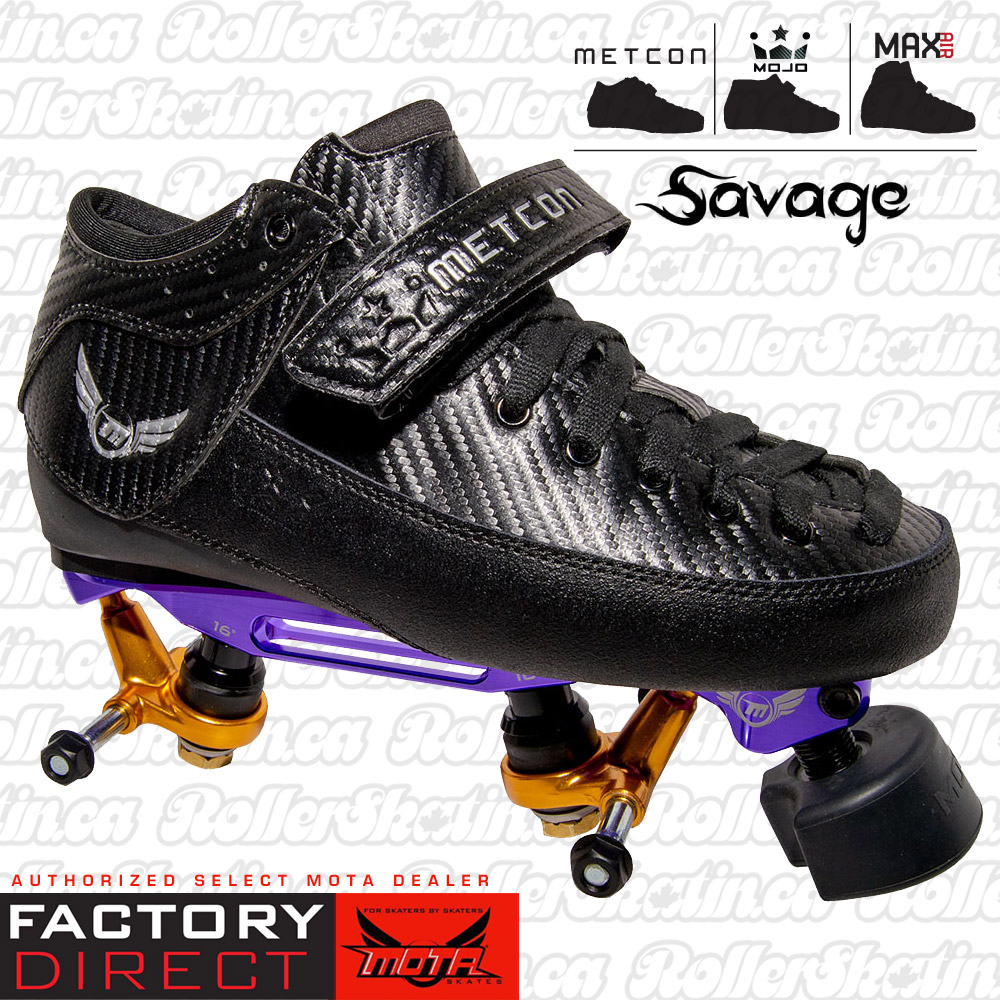 Mota Metcon/Max/Mojo Savage Boots + Custom SK8CRE8 Boss Plate Combo Factory Direct!