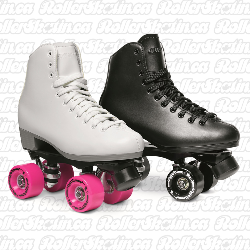 INSTOCK! SURE-GRIP MALIBU Rink Roller Skate - Indoor AND Outdoor!