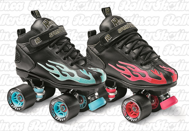 New Colours! Sure-Grip ROCK Speed Freak Flame Skate