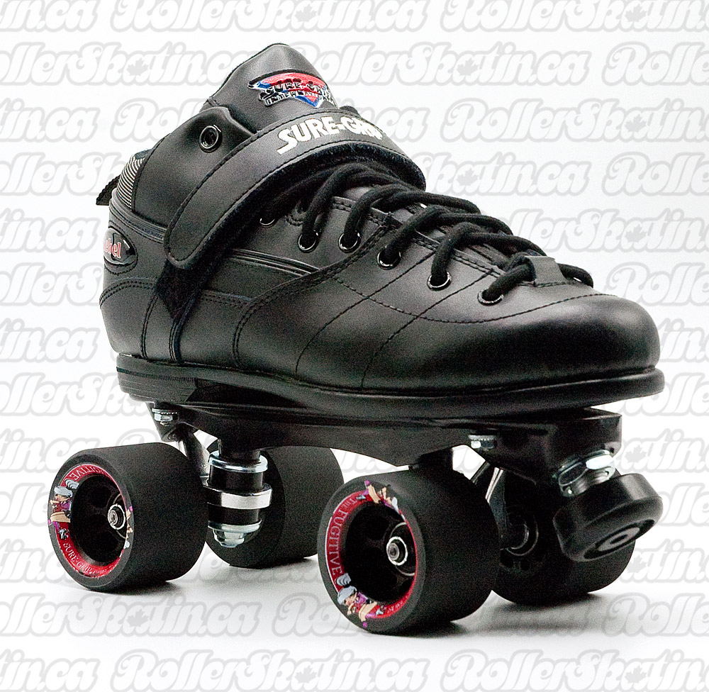 INSTOCK Sure-Grip Rebel Fugitive Rink, Derby OR Outdoor Skate Mens size 10
