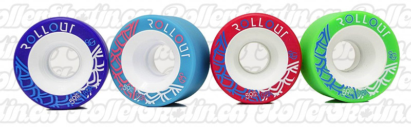 INSTOCK Premium Sure-Grip ROLLOUT Wheels 59 & 62mm 8-Packs