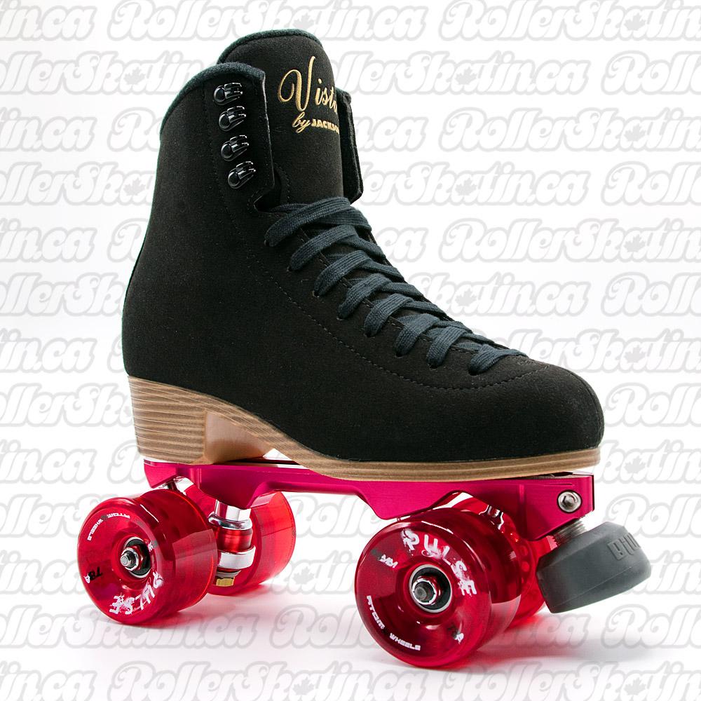 Pre-Order Jackson VISTA Falcon Colour Plate Suede Outdoor Roller Skates