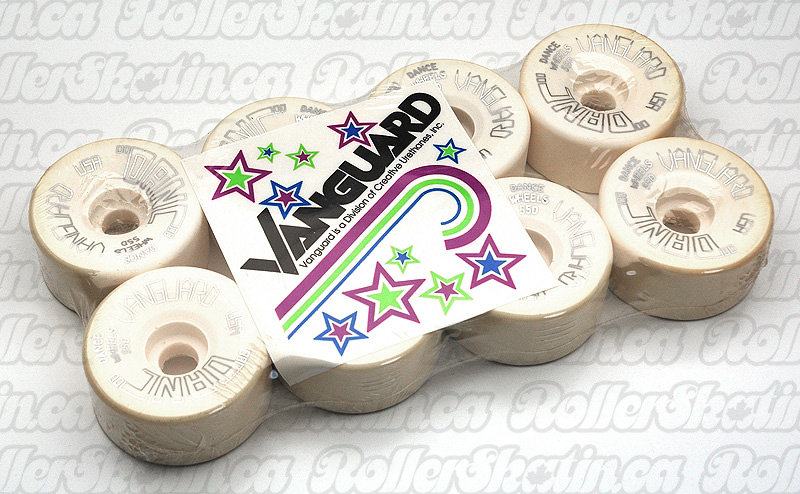 NOS RARE Vanguard USA DANCE 62mm Wheels Set of 8!