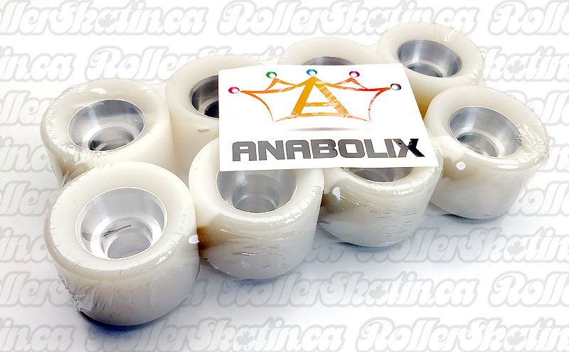 ANABOLIX HEIR Series Pearl Natural Wheels 96A with Sceptre Hubs Complete 8-Packs