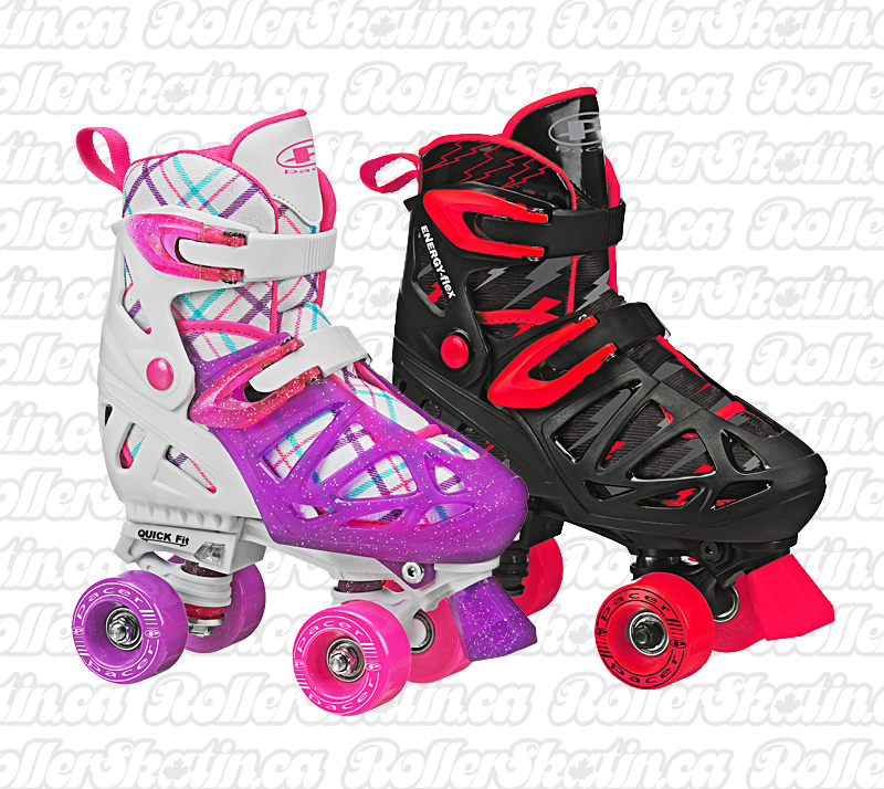 INSTOCK! Pacer XT-70 Adjustable Kids Skates