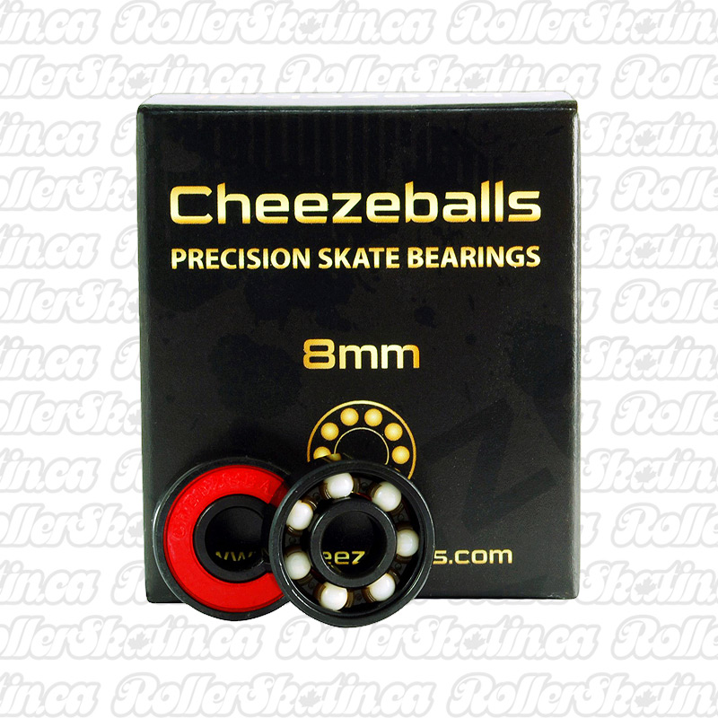 Cheezeballs Gouda Ceramic Bearings 7mm or 8mm 16-Pack