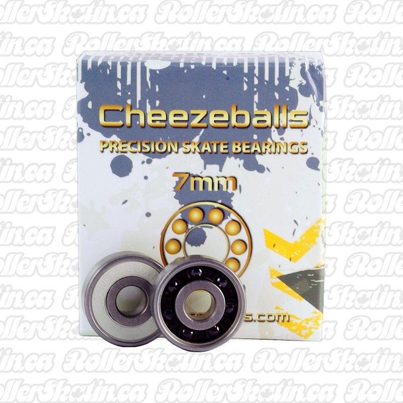 Cheezeballs Swiss Bearings 7mm or 8mm 16-Pack