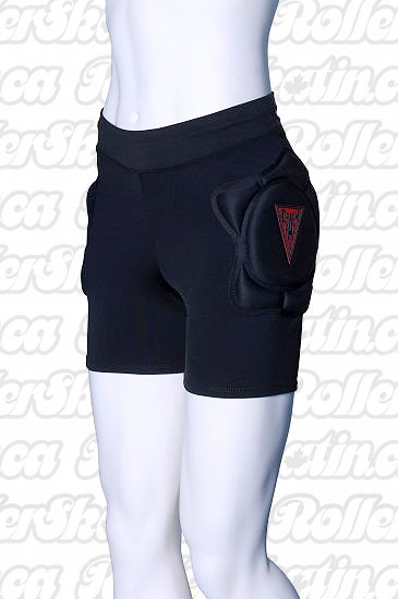INSTOCK Crash Pads Womens Roller Derby Padded Shorts 2700