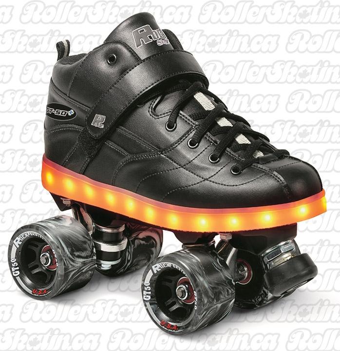 INSTOCK Sure-Grip Rock GT-50 PLUS Light-Up Skate - - Last One Ladies 5/Mens 6!