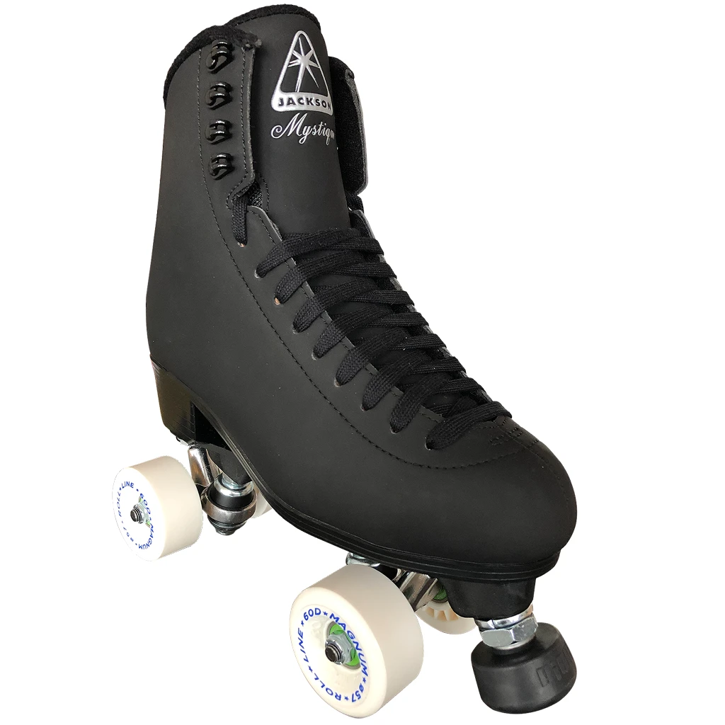 INSTOCK! Last One Mens 7-Ladies 8-8.5! Jackson Mystique Nylon Plate Outdoor Roller Skates