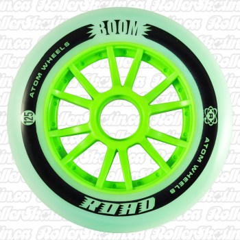 ATOM BOOM Road Outdoor Inline Wheels 125mm