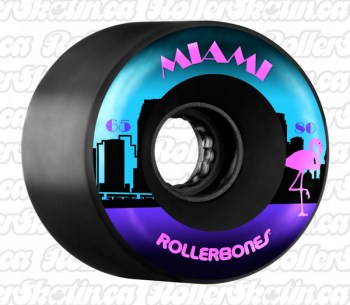 RollerBones MIAMI Outdoor Wheels 80A