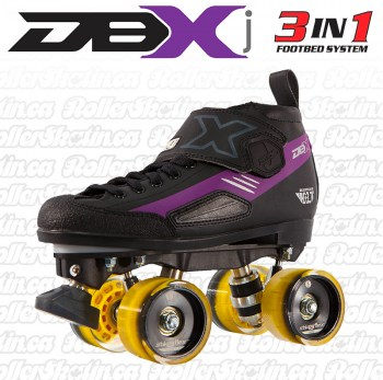 CRAZY DBXj Junior Derby Roller Skate