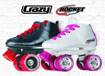 CRAZY Rocket Junior Roller Skates