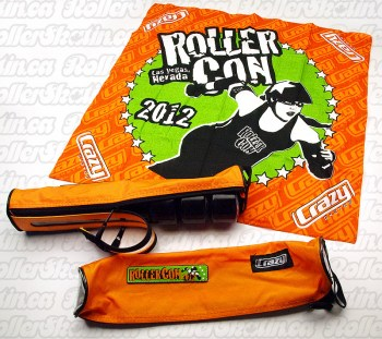 CRAZY RollerCon Wheel Bag & Bandana