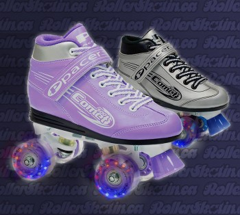 Pacer Comet Light-Up Roller Skates