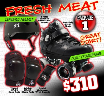 Fresh Meat Derby Package 1