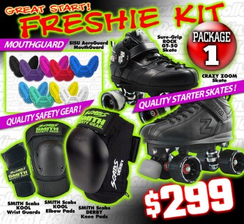 FRESHIE KIT 1 -  A GREAT START Derby Starter Package!