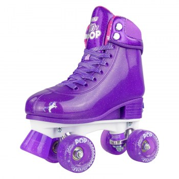 CRAZY Glitter POP Size 3-6 Adjustable Roller Skates