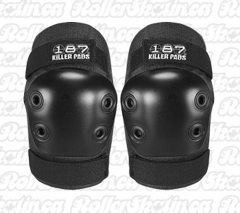 187 Killer Pads Junior Elbow Pads Black