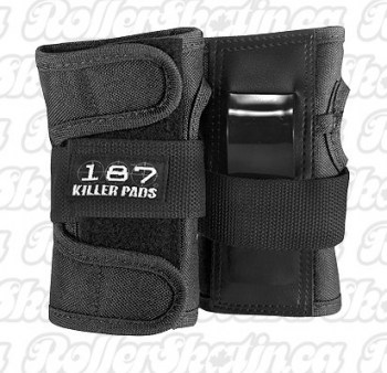 187 Killer Pads Junior Pad Wrist Guard Black