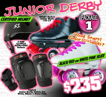 FRESH MEAT Junior Derby Package 1