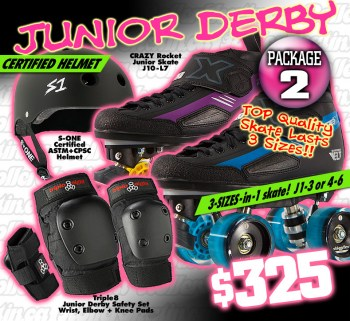 FRESH MEAT Junior Derby Package 2