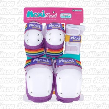MOXI 187 Junior OR Adult Super Six Pack Pad Sets - LAVENDER