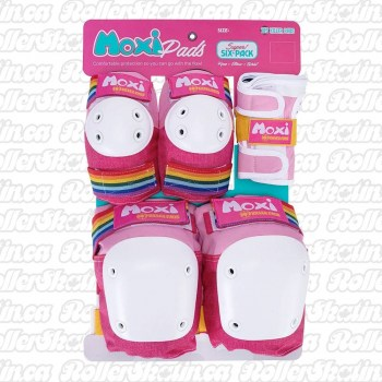 MOXI 187 Junior OR Adult Super Six Pack Pad Sets - PINK