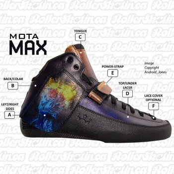 Mota MAX Air SK8CRE8 Custom Carbon Boot