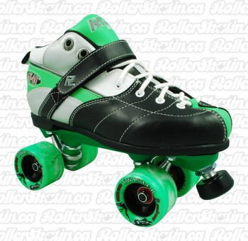 Sure-Grip Rock Expression Roller Skates Green