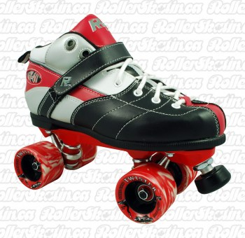 Sure-Grip Rock Expression Roller Skates Red