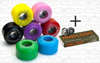 Dominion RoadRider Outdoor Wheels + Mini Logo Bearings