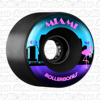 RollerBones MIAMI 80A Outdoor Wheels 8-Packs
