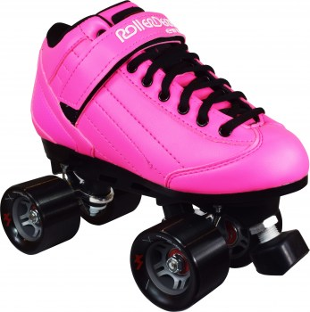 RD Elite Stomp Factor 5 Pink Quad Skates