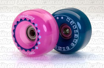 SONIC Cruiser Junior Outdoor Wheels + ABEC 1 Bearings Installed