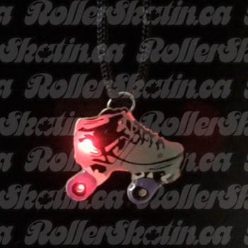 Light-Up Magnetic Roller Skate Charm!