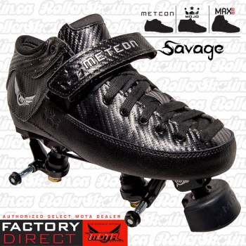 Mota Mojo SAVAGE Boots & Boss Plate Combo Factory Direct!