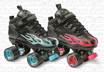 Sure-Grip ROCK Speed Freak Flame Skate NEW Colours!