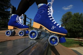 Candi Girl Carlin Suede Roller Skates!