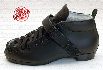 DOMINION 103P Black Leather Boots