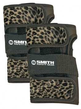 SMITH Scabs Wrist Guards Brown LEOPARD